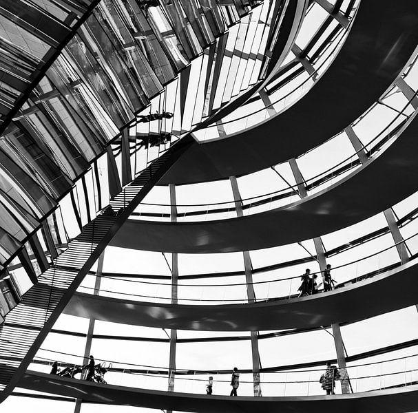 De Reichstagkoepel in Berlijn