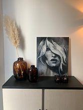 Klantfoto: I know van Atelier Paint-Ing, op aluminium