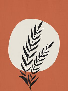 Minimal Botanic Print van MDRN HOME