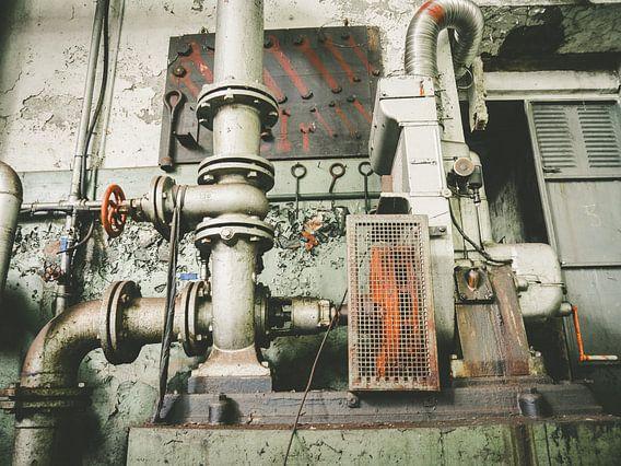 Urbex-Rohrleitung