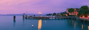 Sonnenuntergang Sirmione, Gardasee, Italien