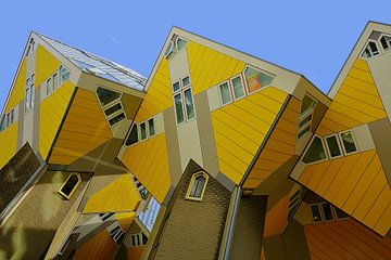 Würfelhäuser in Rotterdam von