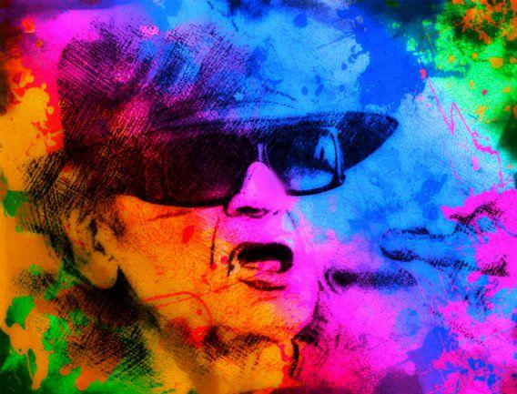 Udo Lindenberg Pop Art Pur die coole Socke NO.2