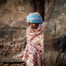 India - Udaipur - Kleurrijke kou van Rik Pijnenburg