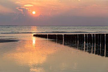 Sunset Wad.. van Miranda van Hulst