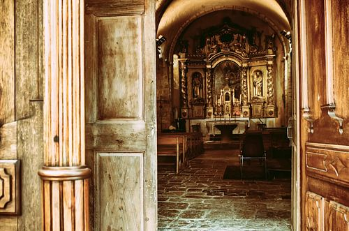 Kerk deur van