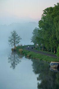 Une matinée brumeuse sur l'Amstel