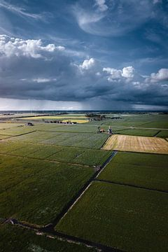Groningen ommeland regenbui van Harmen van der Vaart