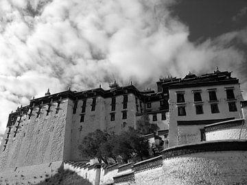 Potala paleis in Tibet van Gert-Jan Siesling