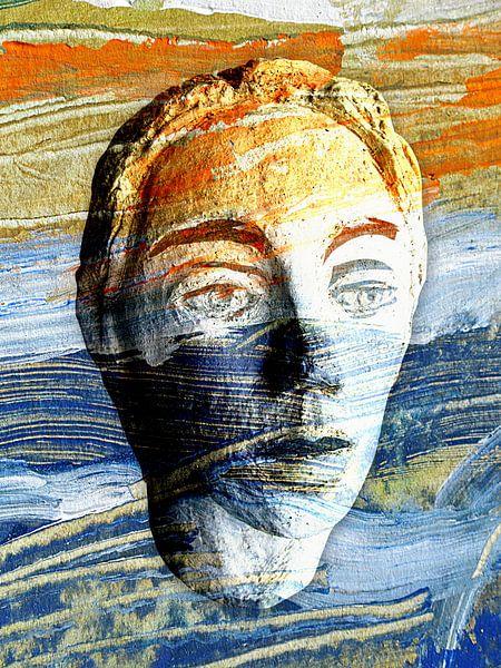 New Mind New Face orange blue van Eva van den Hamsvoort