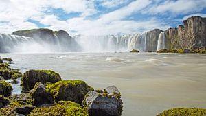 Godafoss IJsland van