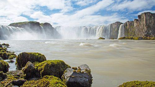 Godafoss IJsland van Menno Schaefer