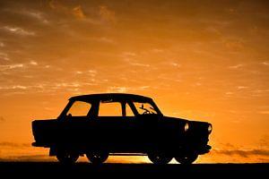 Trabant sunrise van