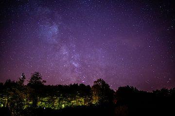 Kamperen onder de sterrenhemel van Annemarie Goudswaard