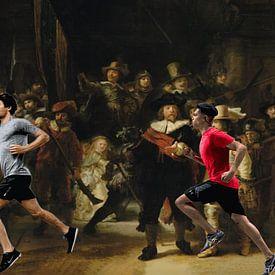 Running Rembrandt van ! Grobie