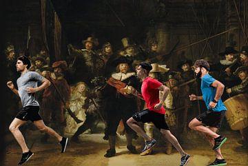 Laufender Rembrandt von ! Grobie