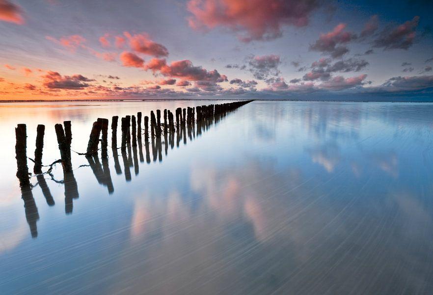 Zonsondergang Ternaard van Peter Bolman