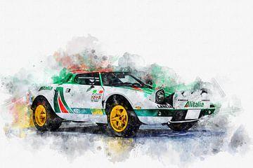 1975 Lancia Stratos Rally van Theodor Decker