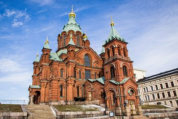 Cathédrale Uspenski d'Helsinki sur Maria-Maaike Dijkstra