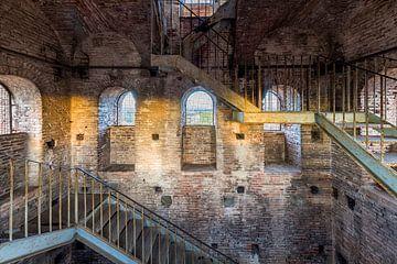 Blick durch die mittelalterlichen Fenster von Rob van Esch