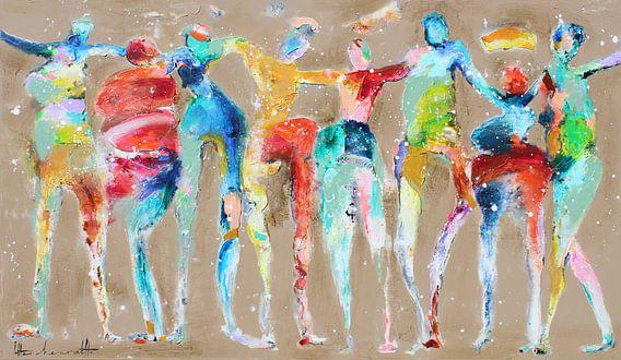Color People van Atelier Paint-Ing