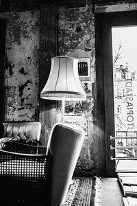 De oude woonkamer