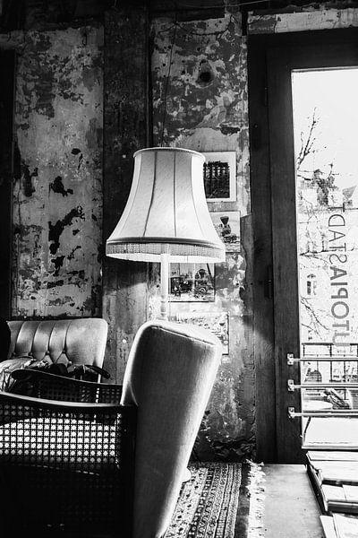 De oude woonkamer van Joerg Keller