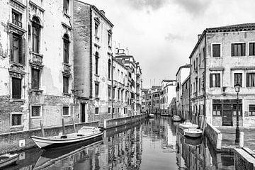 Venedig in schwarz-weiß von Michel van Kooten