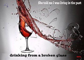 gebroken glas van Theunis Kuipers