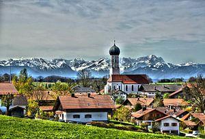 Alpenblick van