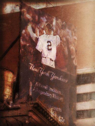 New York Billboard Yankees van Joost Hogervorst