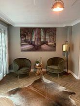 Kundenfoto: Farbiger Korridor von Perry Wiertz, als akustikbild