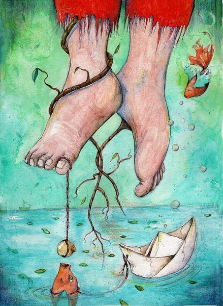Twisted feet van keanne van de Kreeke