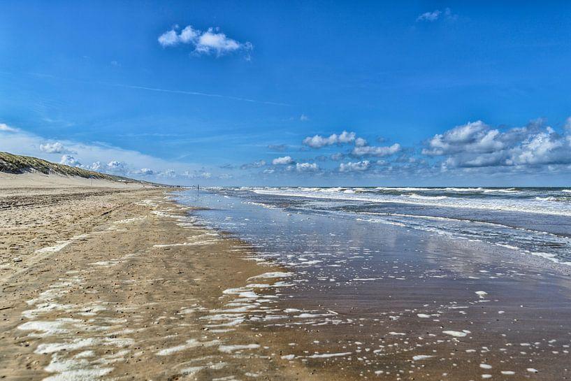Strand Zuid Zandvoort van Don Fonzarelli