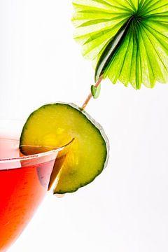 Kleurrijk drankje van