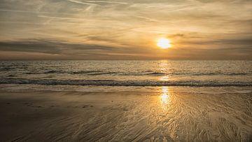 Sonnenuntergang am Strand von anne droogsma