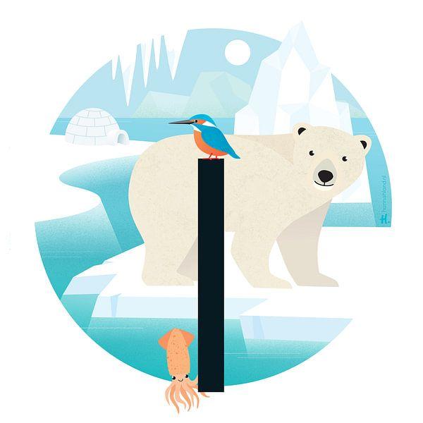 Der Eisbär und der Tintenfisch von Hannahland .