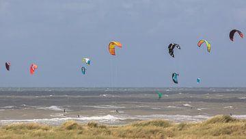 Kitesurfing van STEVEN VAN DER GEEST