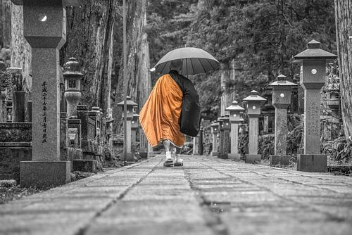 Monnik in Japan van