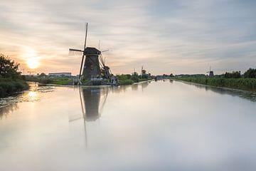 Zonsondergang Kinderdijk von Jeffrey Van Zandbeek