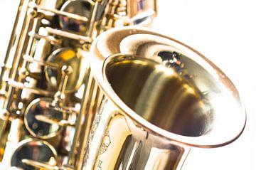 Saxofoon close-up van Hans Wijnveen