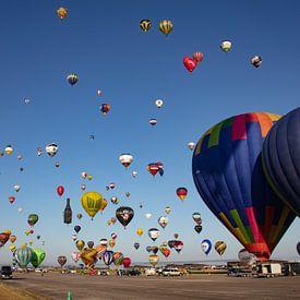 Heißluftballon-Festival von Cornelius Fontaine
