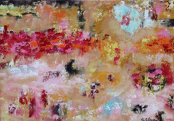 Kleurrijk abstract van Gulserin Gokcan