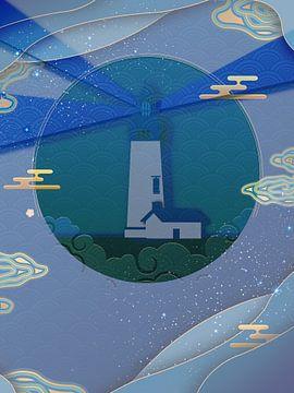 Lighthouse of the Sun van Rudy en Gisela Schlechter
