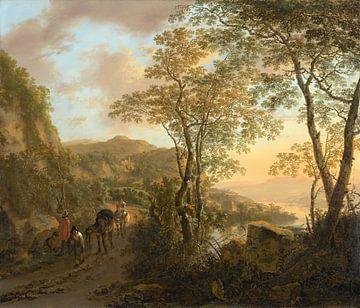 Italienische Landschaft, Jan Beide