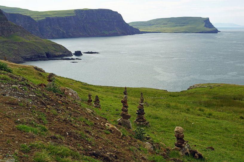 Neist Point is een klein schiereiland op het Schotse Isle of Skye van Babetts Bildergalerie