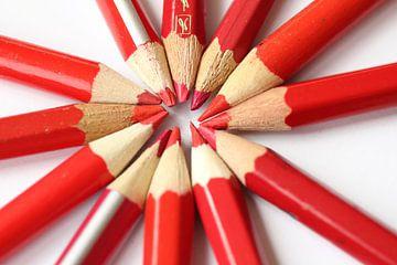 rode potloden van Kitty Schwarz