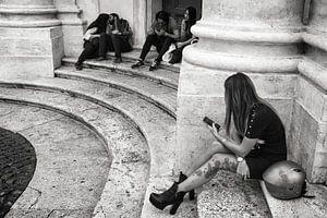 Straßenfoto in Rom von