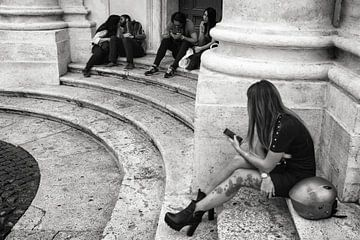 Straßenfoto in Rom von Hans Van Leeuwen