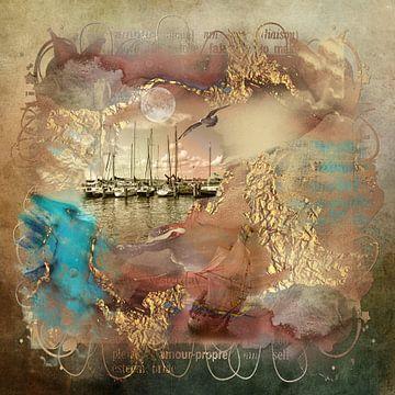 Water fantasie van Carla van Zomeren